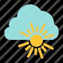cloud, nature, spring, sun