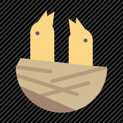 Animal, bird, house, spring icon - Download on Iconfinder