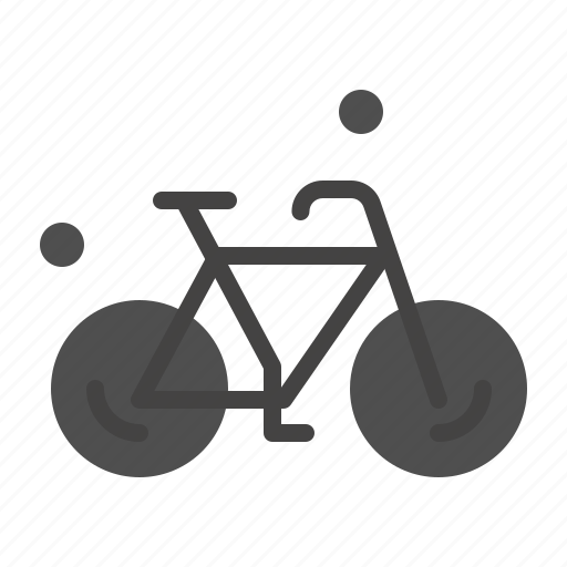 bicycle, bike, cycle, spring icon