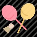 badminton, racket, sports, spring