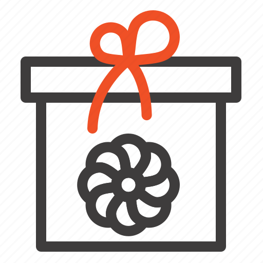 Box, flower, gift, spring icon - Download on Iconfinder