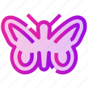 animal, butterfly, fly, spring icon