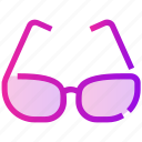 glasses, spring, sunglasses, view, warm icon