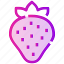 berry, fruit, spring, strawberry icon