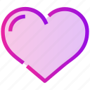 heart, like, love, romance, spring icon