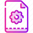 easter, flower, paper, spring icon