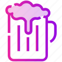 beer, drink, mug, spring icon