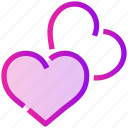 heart, love, relationship, romance, spring icon
