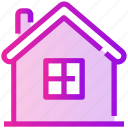 farm, house, hut, spring icon