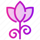 flower, nature, plant, spring, tulip icon