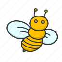 animal, bee, honey, insect, sting