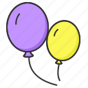 bloons, spring, toy, toys icon