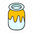 honey, honeypot, pot, spring icon