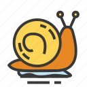 animal, easter, season, snail, spring icon