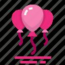 balloon, easter, farming, season, spring icon