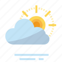 cloud, easter, farming, season, spring, sun, weather icon
