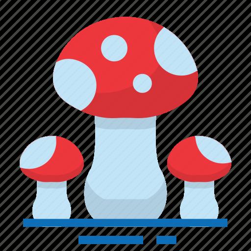 easter, farming, mushrooms, season, spring icon
