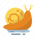 animal, easter, farming, season, snail, spring icon