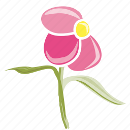 bloom, ecology, flower, garden, leaves, plant, spring icon