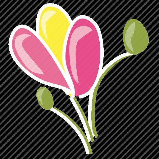 environment, flower, garden, leaves, nature, spring, summer icon