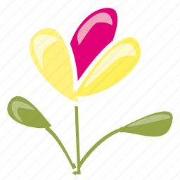 bloom, flower, garden, leaves, plant, spring, summer icon