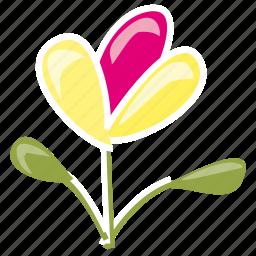 bloom, flower, garden, leaves, plant, spring, summer icon