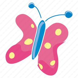 bloom, bug, butterfly, garden, insect, nature, spring icon