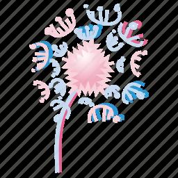 bloom, dandilion, flower, garden, nature, spring, summer icon