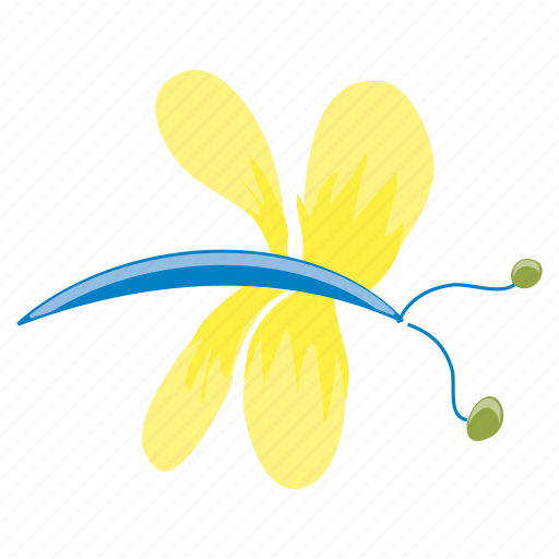 bug, dragonfly, garden, insect, nature, spring, summer icon