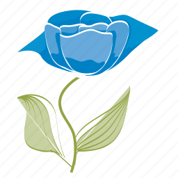 bloom, ecology, flower, garden, leaves, rose, spring icon