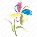 ecology, flower, garden, nature, petals, spring, summer icon