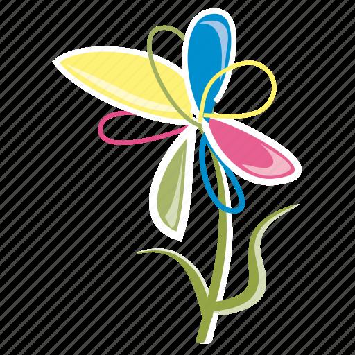 bloom, flower, garden, leaves, petals, spring, summer icon