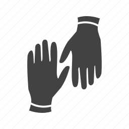 clothing, glove, gloves, leather, pair, protection, spring icon