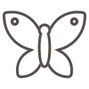 bug, butterfly, fly, garden, insect, spring, wings icon