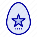 easter, egg, holiday, spring icon