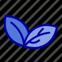 growth, leaf, plant, spring icon