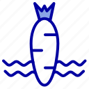 carrot, food, spring, vegetable icon