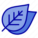 ecology, leaf, nature, spring icon