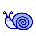 bug, easter, snail, spring icon