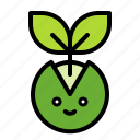 sapling, spring, sprout, young plant icon