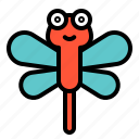 animal, bug, dragonfly, insect, spring icon