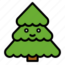 nature, pine, plant, spring, tree icon