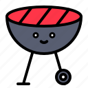barbecue, barbecue grill, bbq, grill, spring icon