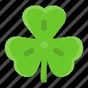 clover, floral, leaf, saint patrick's day, shamrock, spring, trefoil icon