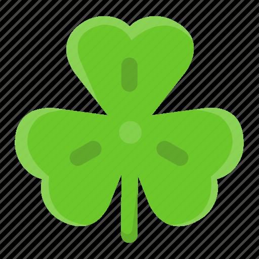 Clover, floral, leaf, saint patrick's day, shamrock, spring, trefoil icon - Download on Iconfinder