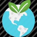 earth, ecology, globe icon