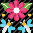 blossom, flower, garden, spring icon