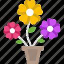 flower, flowers, garden, plant, spring icon