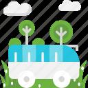 bus, public transport, tour, travel icon
