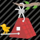 bird house, birdhouse, house, pet shop, structure icon